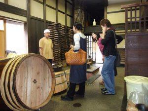 高木糀商店の樽